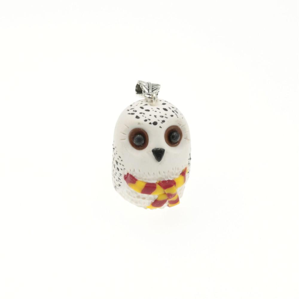 Sówka Hedwiga dla fanów Harrego wisiorek naszyjnik