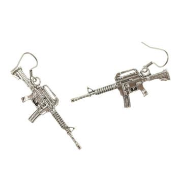 Karabin kolczyki karabiny dla strzelców wiszące