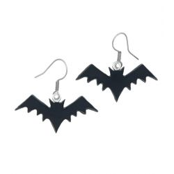 Kolczyki Nietoperze na Halloween wiszące