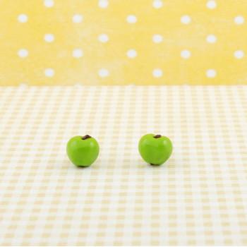 Zielone jabłuszko - wkrętki jabłuszka
