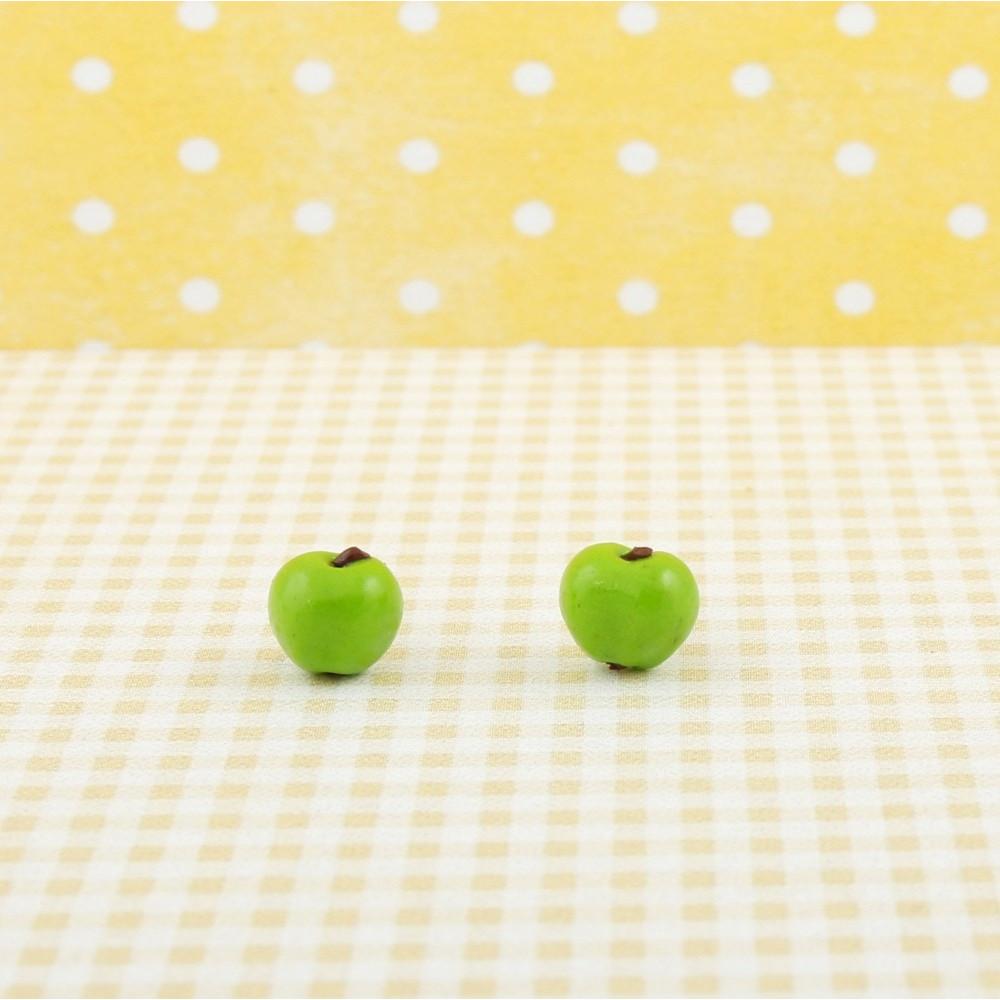 Jabłuszka - zielone jabłuszko sztyfty