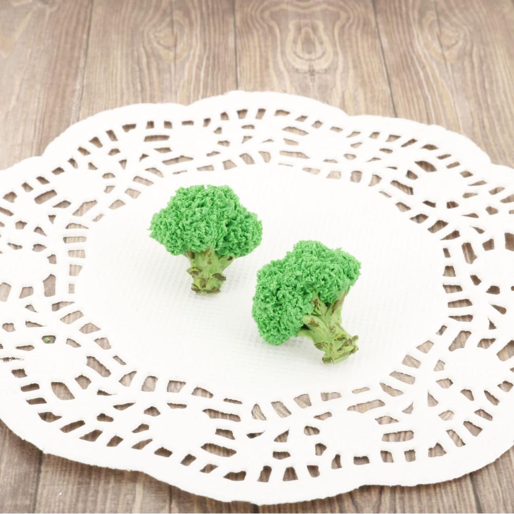 Brokuły - kolczyki wtykane