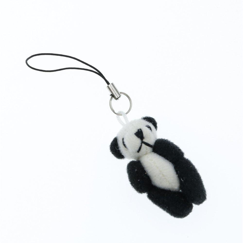 Panda miś breloczek zwieszka