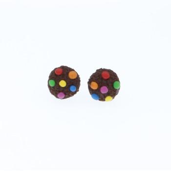 Ciasteczka 1cm kolorowe z lentilkami sztyfty