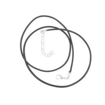 Rzemyk rzemień 55cm + łańcuszek 5cm