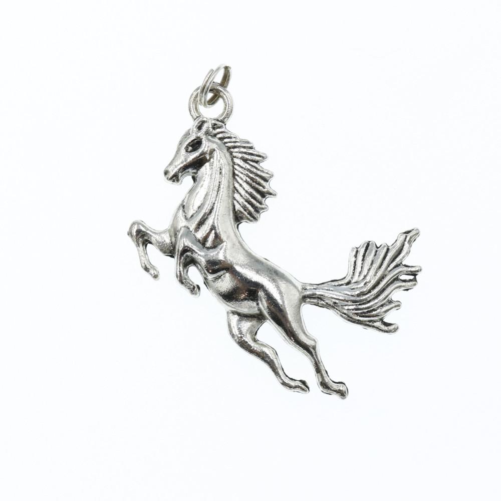 Koń biżuteria jeździecka wisiorek zawieszka