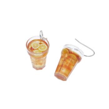 Kolczyki herbata mrożona kolczyki whisky wiszące drink
